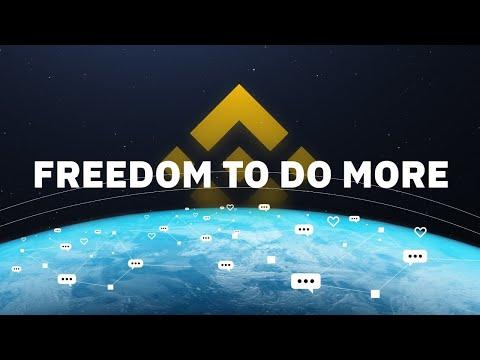 Freedom to do more / Binance blockchain ecosystem