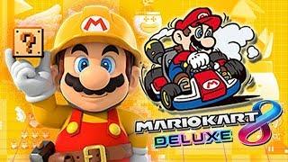 NIVELES DEL DEMONIO CTM! Super Mario Maker - Mario Kart 8 DELUXE EN VIVO