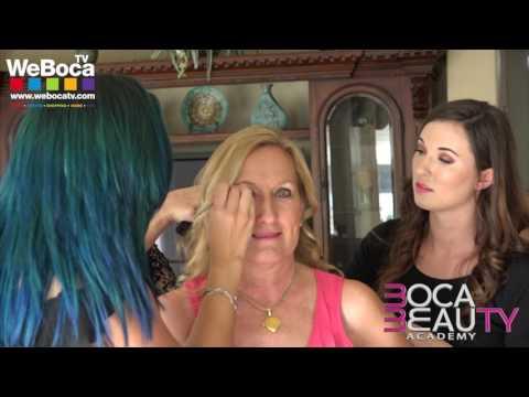 Boca Beauty Academy Glam Squad On-Location with WeBocaTV