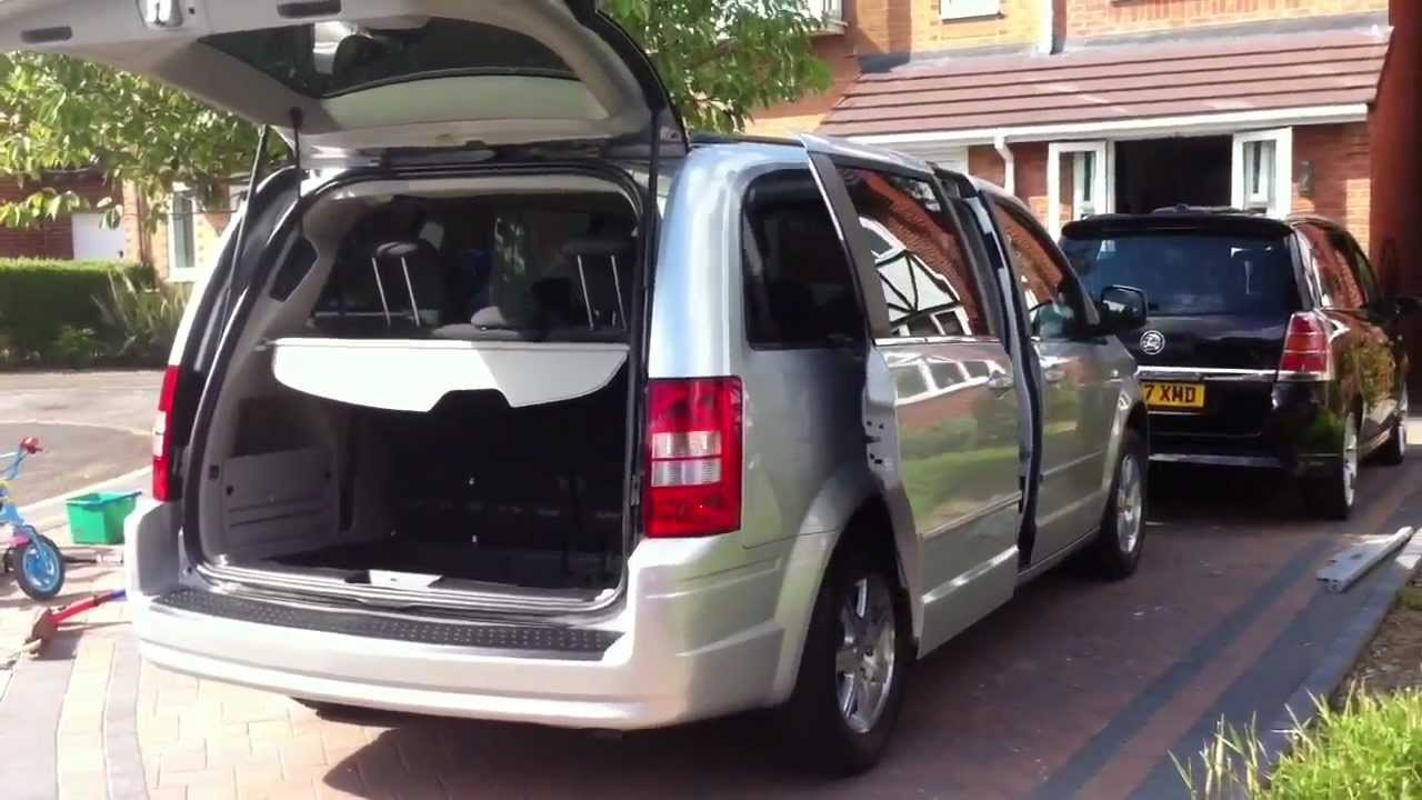 chrysler grand voyager 2009 youtube. Black Bedroom Furniture Sets. Home Design Ideas