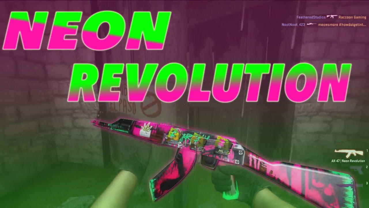 gamma 2 case ak 47 neon revolution gameplay youtube