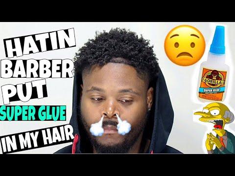 Barber Used Super Glue In My Hair! Hating On Me!! - 동영상