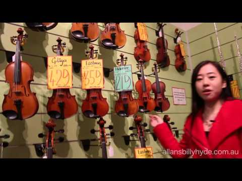 Band and Orchestral Walkthrough (Pitt St, Sydney Store)