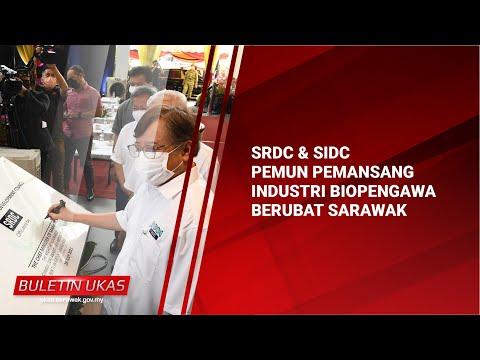 #KlipBuletinUKAS(Iban) SRDC & SIDC Pemun Pemansang Industri Biopengawaberubat Sarawak