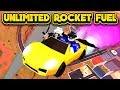 NEW UNLIMITED ROCKET FUEL GLITCH! (ROBLOX Jailbreak)