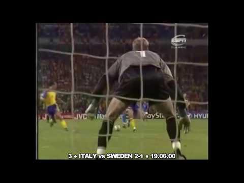 Alessandro Del Piero ● I più bei 10 gol per l'Italia in maglia Azzurra