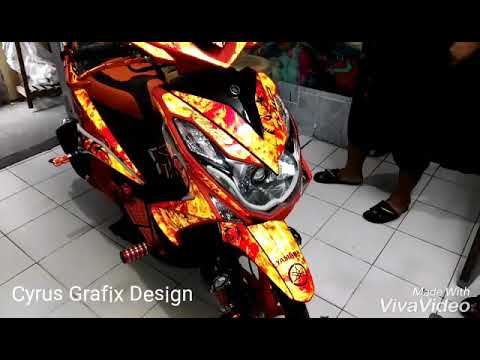 M Reflective Printed Decals Made By Cyrus Grafix YouTube - Mio decalscyrus grafix decals youtube