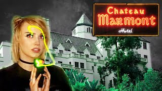 I TALKED TO A GHOST AT THE HAUNTED CHATEAU MARMONT ??