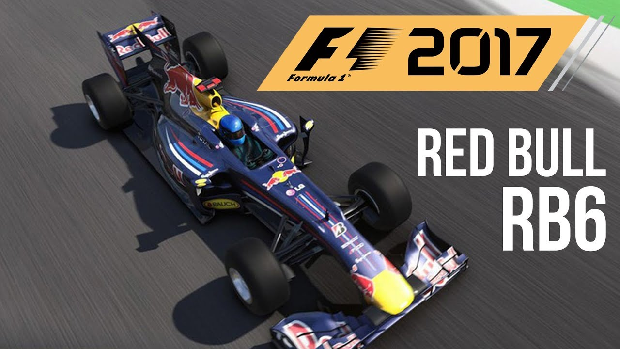 f1 2017 red bull rb6 gameplay classic championship mode. Black Bedroom Furniture Sets. Home Design Ideas