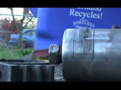 Replace Fuel Filter GMC Jimmy Blazer with Hand Tools - YouTube