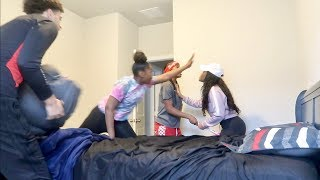 CAUGHT IN THE BED WITH TAE PRANK ON GIRLFRIEND!!!!