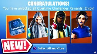 New OVERTIME CHALLENGES and FREE REWARDS on Fortnite Season 9...