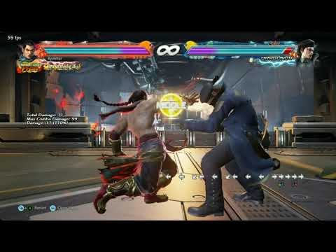 Tekken 7   Feng Max Damage Combos With Wall