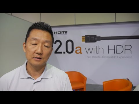HDMI 2.0a with HDR