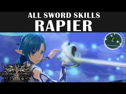 SAO Sword Skill & Weapon Breakdowns – BK Brent's Game Guides
