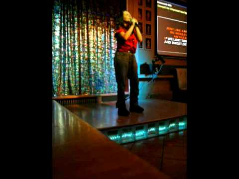 Karaoke Anna Wennerholm Its now or never mars-10.MPG