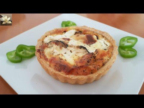 quiche-d'aubergine-au-fromage-/eggplant-cheese-quiche/كيش-البادنجان-و-الجبن