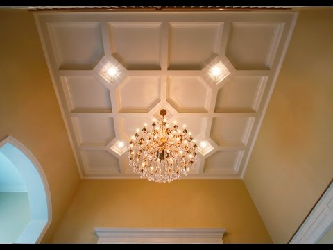 Tilton Box Beam Coffered Ceiling System Easy 1 Day Install
