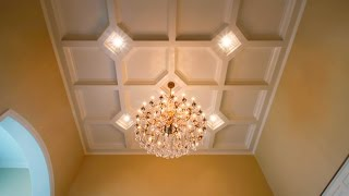 Tilton Coffered Ceiling System | EASY 1 DAY INSTALL!