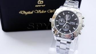 Скрита камера в елегантен ръчен часовник