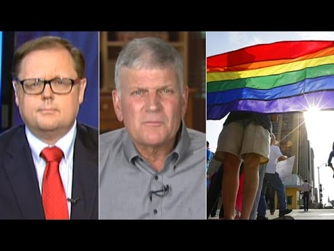 Franklin Graham: Christians should prepare for persecution after gay marriage ruling from YouTube · Duration:  6 minutes 47 seconds