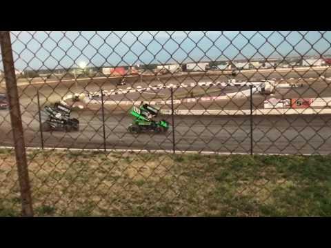 Sprint Car Races In Great Falls, MT (7-14-17)