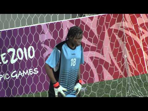 Chile vs Equatorial Guinea - Women's Football - Gold Medal Match - Singapore 2010 Youth Games