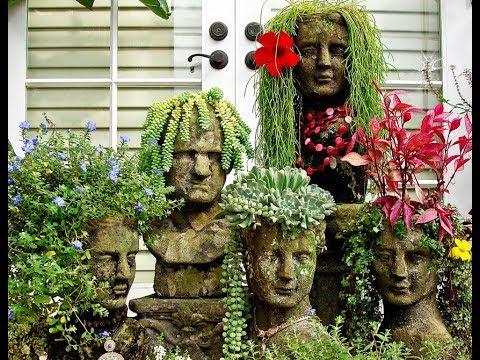 Оригинальные ЦВЕТОЧНЫЕ КЛУМБЫ со всего мира. Идеи для сада и огорода