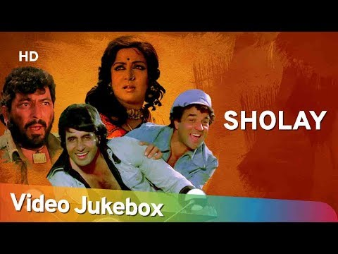 Sholay All Songs (1975) | Amitabh Bachchan | Dharmendra | Hema Malini | R. D. Burman Hits