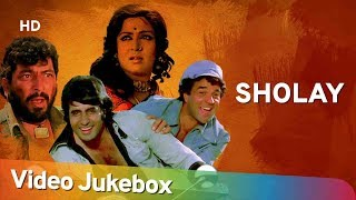 Sholay All Songs (1975) | Amitabh Bachchan | Dharmendra | Hema Malini | R. D. Burman Hits