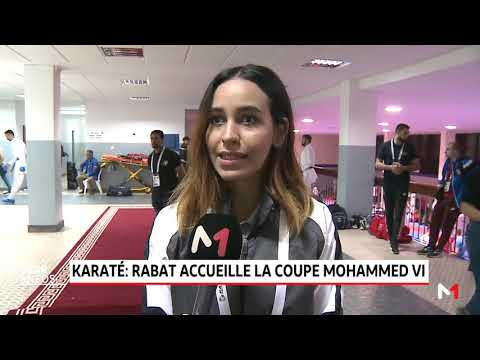 "Rabat ""La Coupe internationale Mohammed VI"" Karaté"