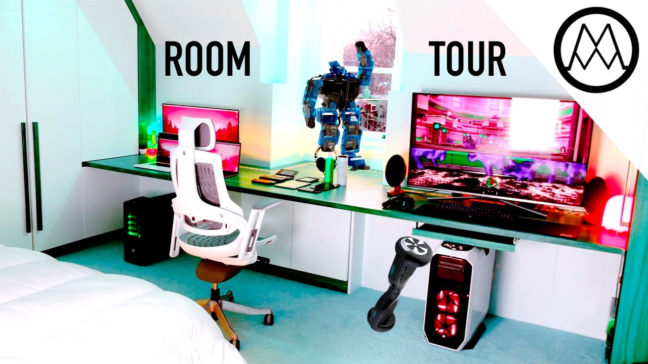 mind blowing 30000 gaming room tour 2017 youtube - Gaming Room