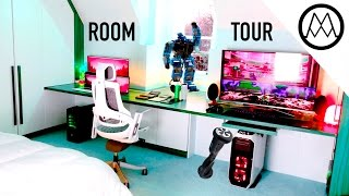 Mind-Blowing $30,000 Gaming Room Tour 2017!