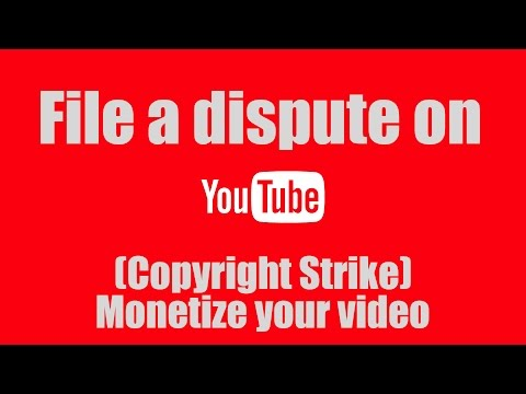 How to File a Dispute on Youtube for a Copyright content ( Copyright Strike )