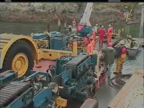 OPALCO Power and Fiber Under Sea Cable Lay (2004)