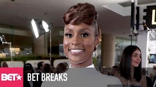 Issa Rae Gets Busy With Jussie Smollett - BET Breaks