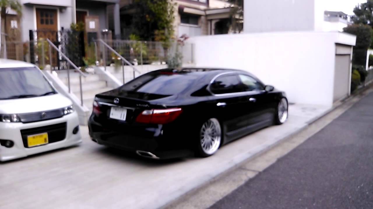 "2015 Lexus Gs >> Slammed LEXUS LS460L on21""Carlsson 2/16RS Diamond Edition 10.5J - YouTube"