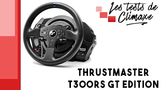 Test du volant Thrustmaster T300RS GT Edition (Gran Turismo Edition)