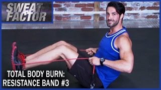 Total Body Burn Resistance Band Training with Drake: Circuit 3- Sweat Factor