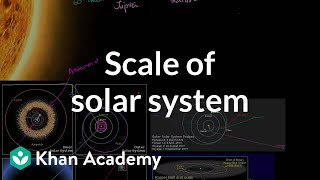 Scale of solar system | Scale of the universe | Cosmology & Astronomy | Khan Academy