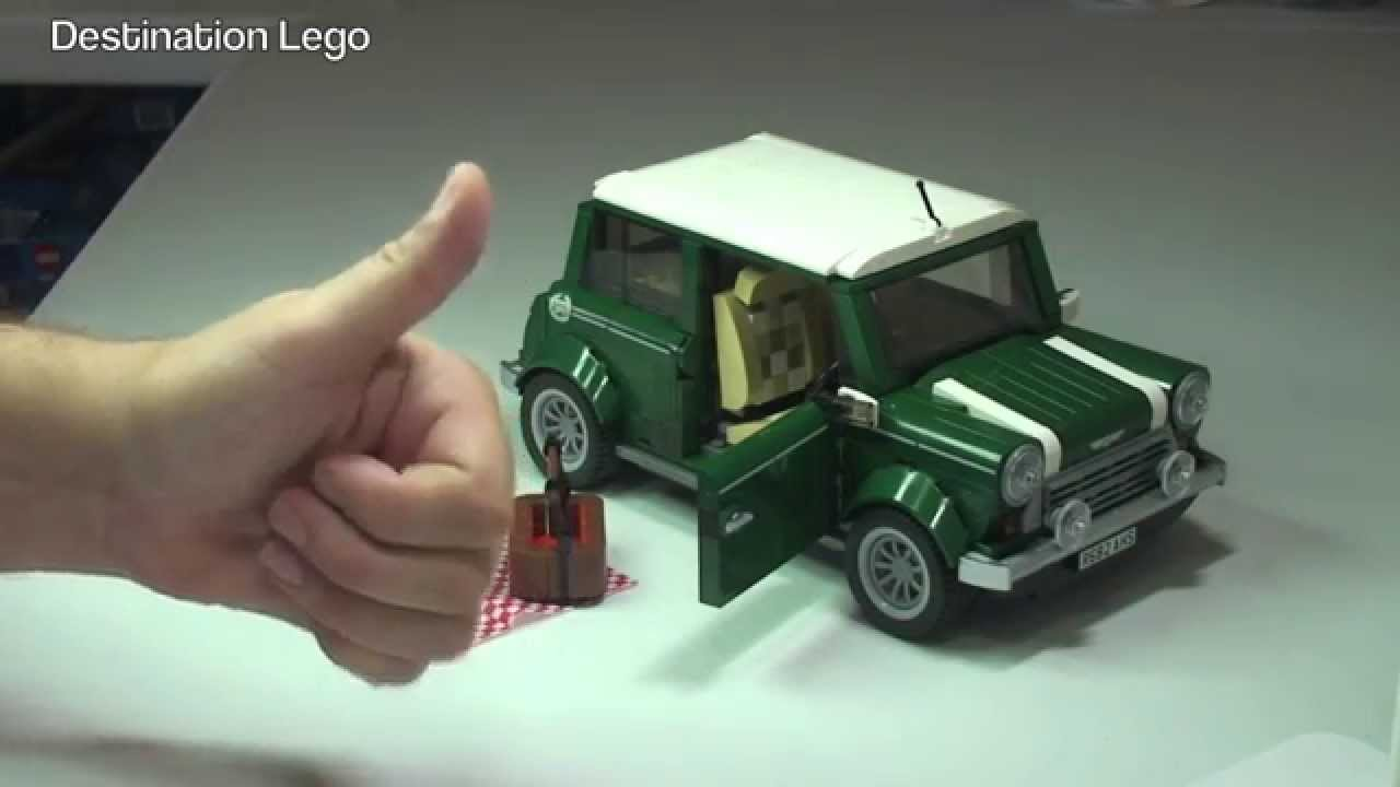 lego creator mini cooper set 10242 review 2014 youtube. Black Bedroom Furniture Sets. Home Design Ideas