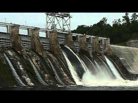 Oxford Dam Flood Gate Test