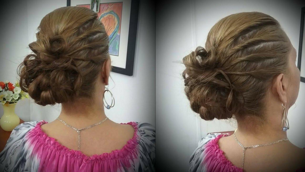 Como hacer un peinado para fiesta paso a paso diana - Peinados fiesta faciles ...