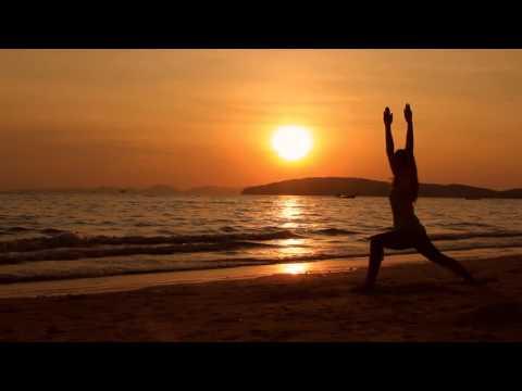 Ao Nang Beach Yoga MP4 HDV 1080p25  TanuriX Stock Footage NS