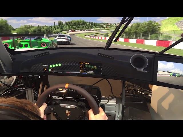 iRacing AI Demo - Offline Racing vs KI - SimRacing Expo 2018
