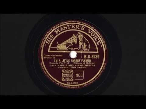"""Elsie Carlisle - """"I'm a Little Prairie Flower"""" (1937)"""