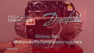 Aus  und Einbau des Motorcavity Temperatursensors von Danfoss Turbocor® TT & TG Verdichtern