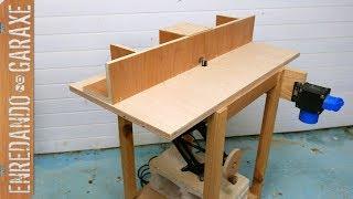 Cómo hacer mesa fresadora completa paso a paso
