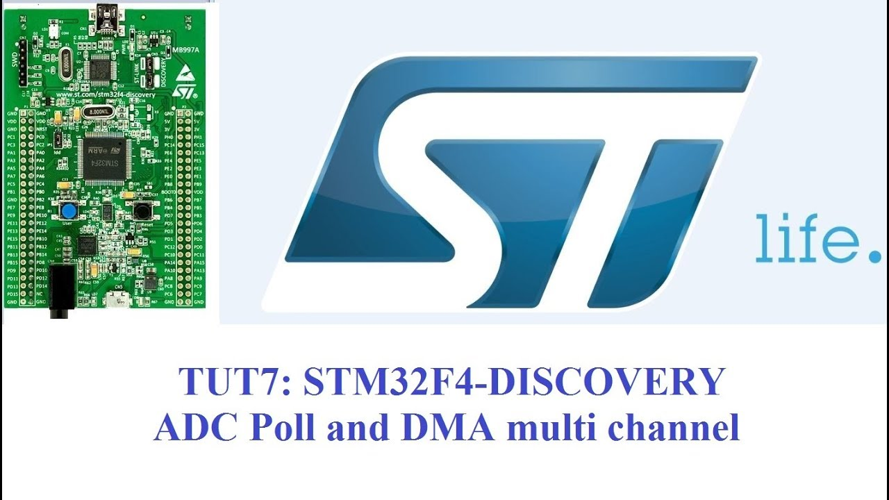 STM32 ADC Poll and DMA multi channel