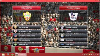 Change PES 2014 League Structure